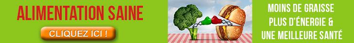 alimentation saine santé